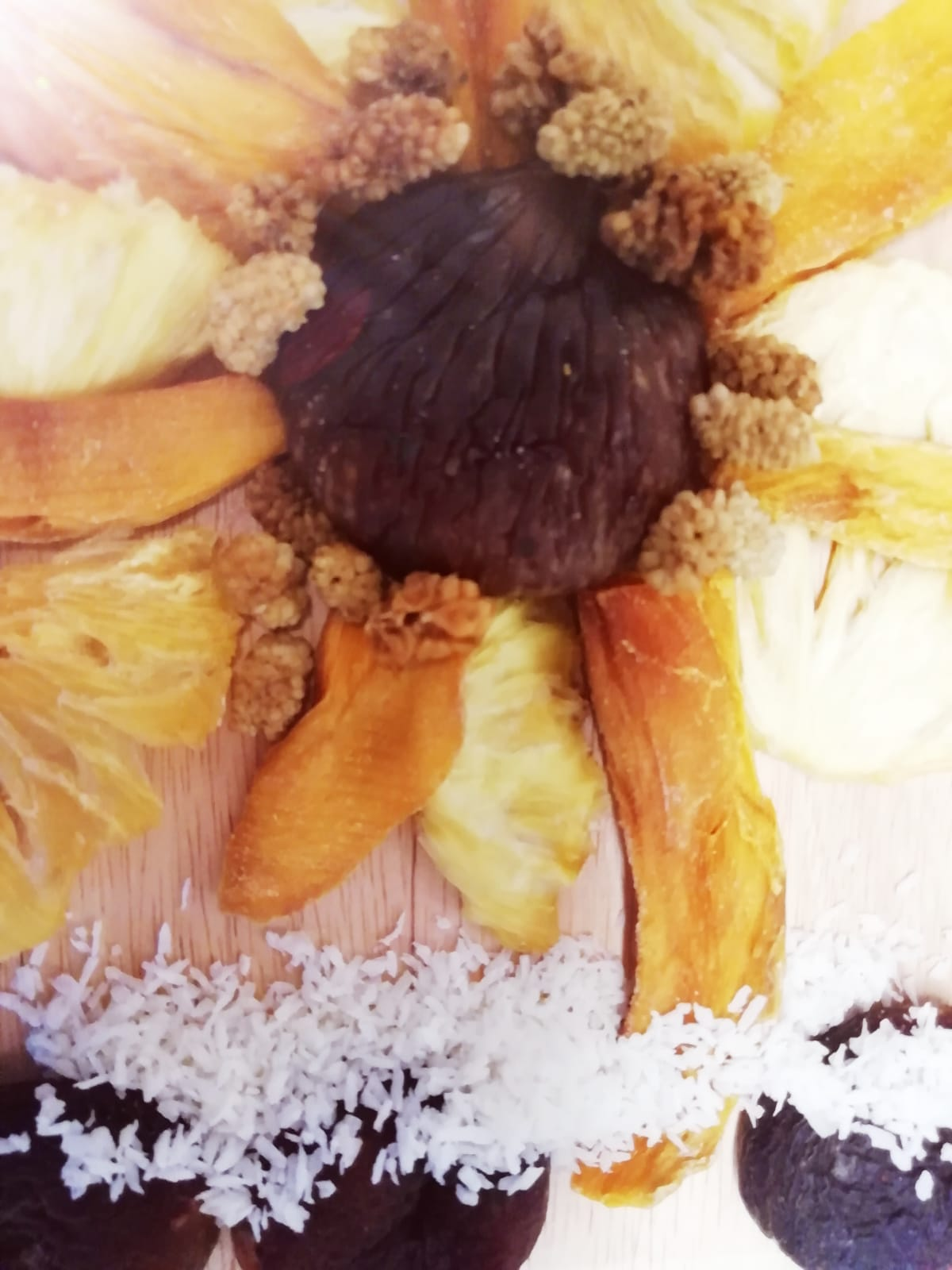 Früchte-Sonnenblume